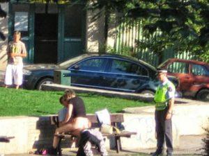 Sexo no parque