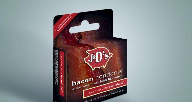 Camisinha sabor bacon