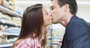Beijo no Mercado