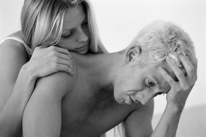 Homem Chateado com Ejaculação Precoce