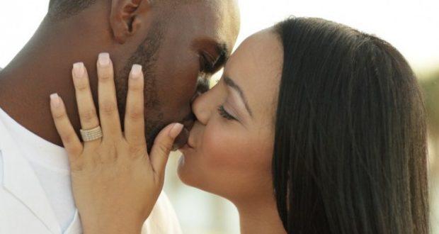 Beijo com uso da mão