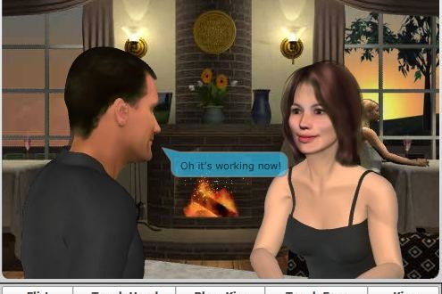 Namoro Virtual de Avatar