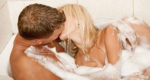 Sexo na Banheira
