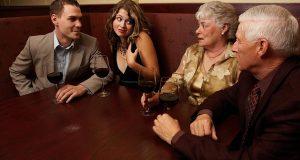 Conhecendo os pais da namorada