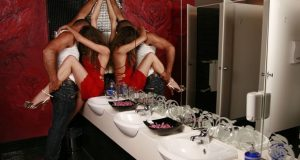 Sexo em banheiro público
