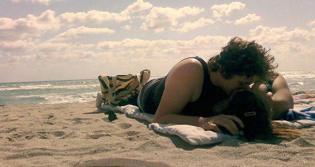 Beijo na praia