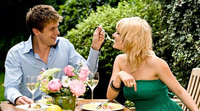 Almoço romântico
