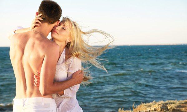 Amor na praia