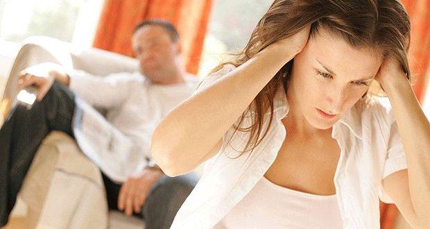 Esposa estressada