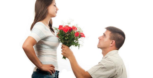 Pedindo perdão à mulher