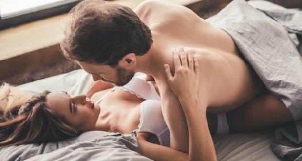 Casal depois do sexo